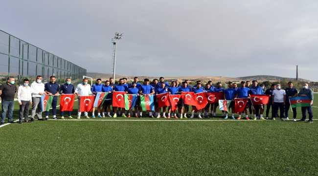 Kırıkkale Büyük Anadoluspor'dan Azerbaycan'a destek