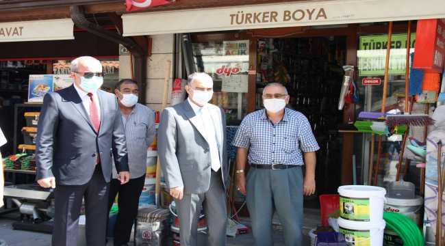 Konya'da Kovid-19 tedbirleri denetimi