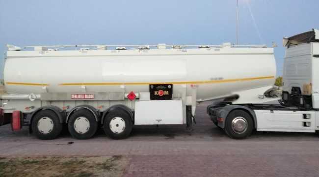 Konya'da tırda 26 bin 500 litre kaçak akaryakıt ele geçirildi