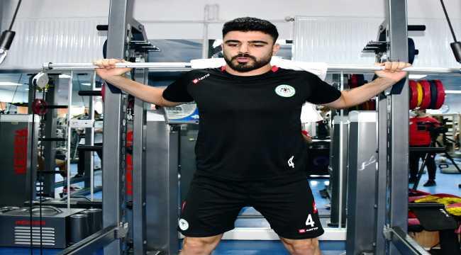 Konyaspor, Denizlispor maçı hazırlıklarını sürdürdü