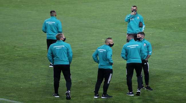 Macaristan A Milli Futbol Takımı, Sivas'a geldi