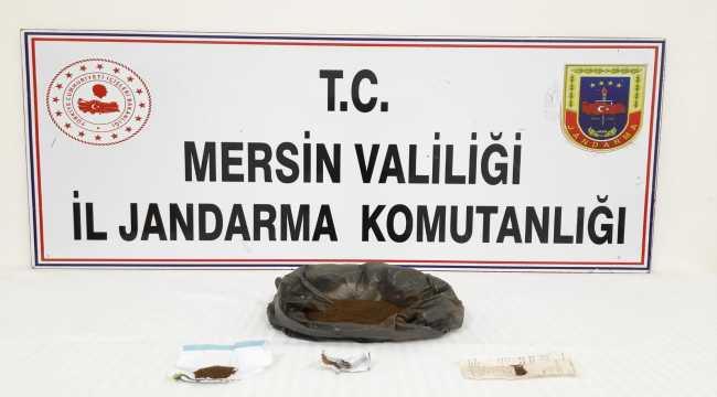 Mersin'de uyuşturucu operasyonunda 2 kişi yakalandı