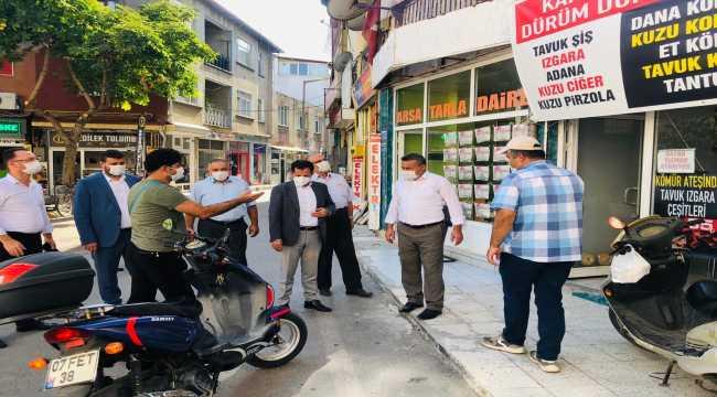Milletvekili Altunyaldız, Seydişehir'de incelemelerde bulundu