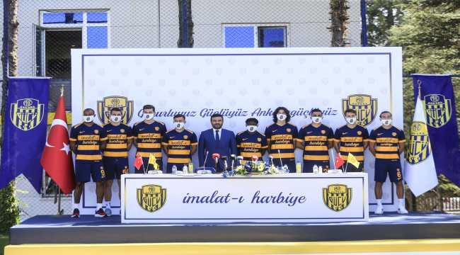 MKE Ankaragücü'nde yeni transferler tanıtıldı