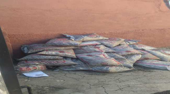 Sivas'ta SYDV'den alınan ve internetten satışa çıkarılan kömürlere el konuldu