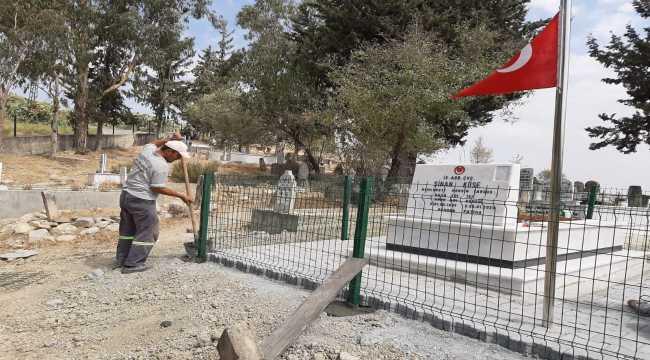 Tarsus'ta mezarlıklarda çevre düzenlemesi