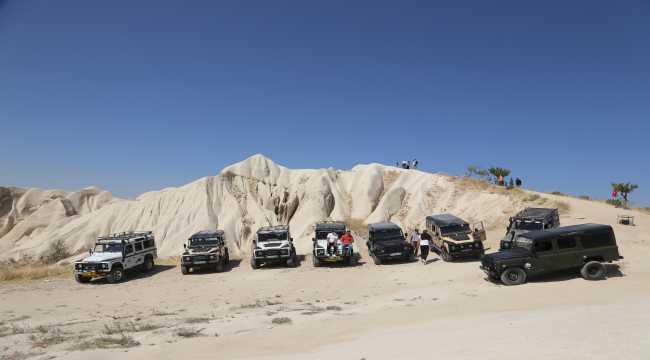 Uluslararası Turizm Filmleri Festivali'ne katılan konuklar Kapadokya'yı gezdi