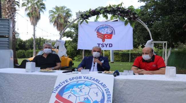 Adana'da derbi öncesi kulüp başkanları bir araya geldi