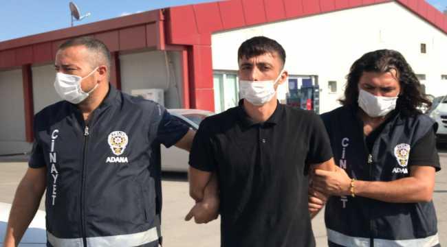 Adana'da tartıştığı arkadaşını bıçakla öldüren şüpheli tutuklandı