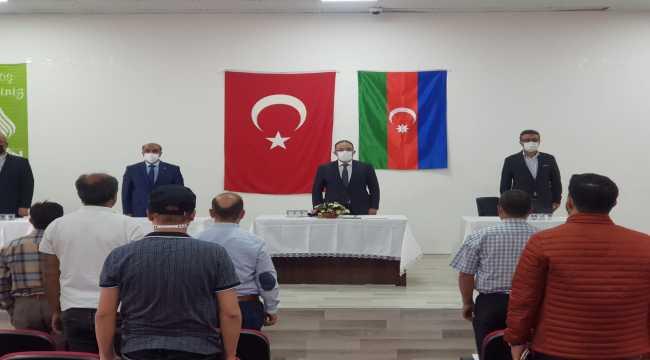 Afşin Belediye Meclisi'nden Ermenistan'ın Azerbaycan'a saldırısına kınama