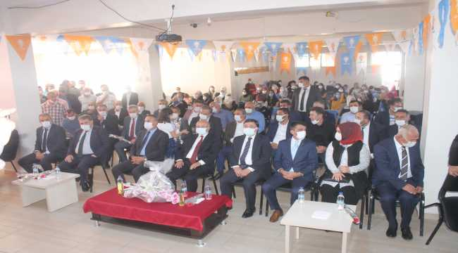 AK Parti Çandır 7. Olağan İlçe Kongresi yapıldı