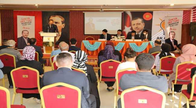 AK Parti Hadim İlçe Gençlik Kollarının 6. Olağan Kongresi yapıldı