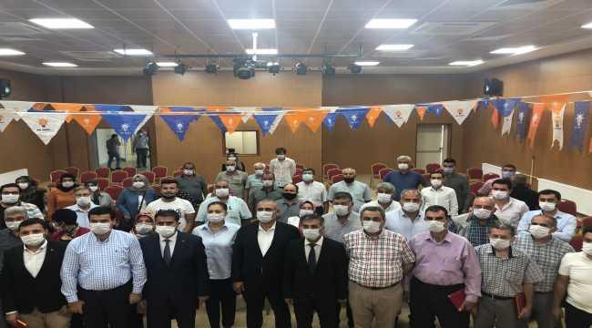 AK Parti Kozan İlçe Başkanlığından başarılı üyeler ödüllendirildi
