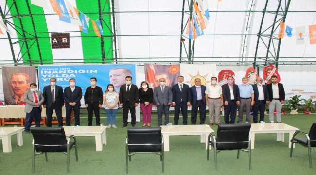 AK Parti Yunak 7. Olağan İlçe Kongresi yapıldı