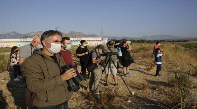 Antalya'da kuş gözlemi etkinliği düzenlendi