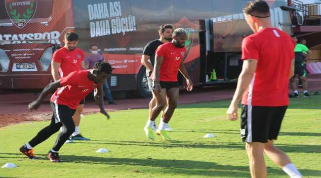 Atakaş Hatayspor, Aytemiz Alanyaspor maçı hazırlıklarını sürdürüyor