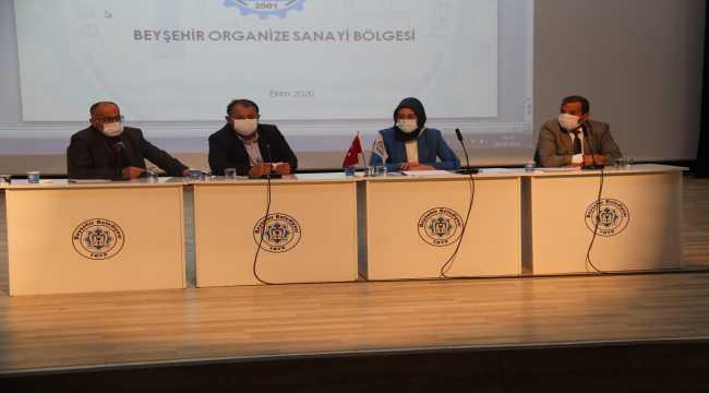 Beyşehir artık yeni organize sanayi alanına ihtiyaç duyuyor