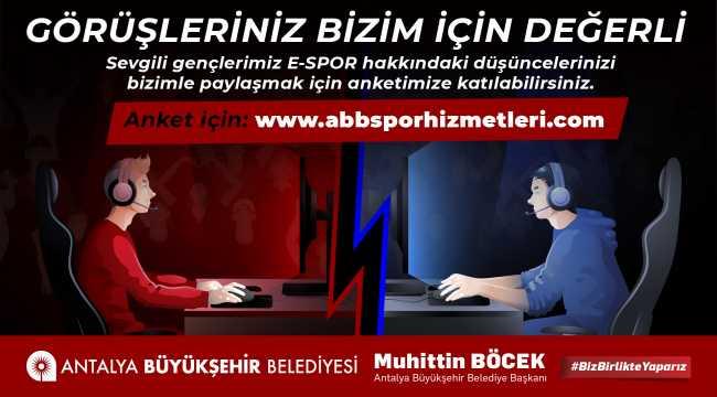 Büyükşehir Belediyesi e-spor çalışmalarına başladı