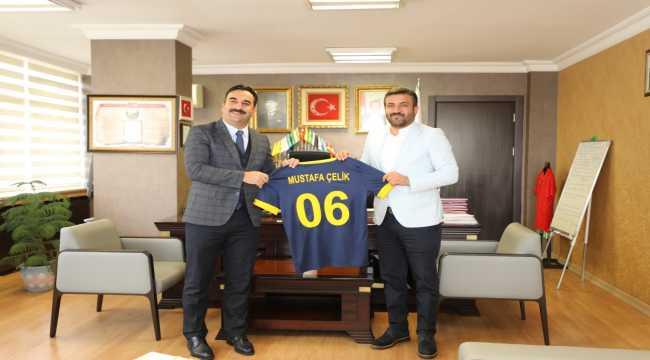 Fatih Mert'ten Ankara Gençlik ve Spor İl Müdürlüğüne ziyaret