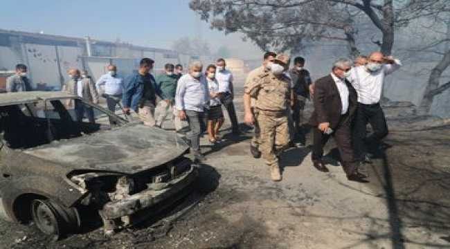 Hatay'da çıkan orman yangını 3 ilçeye yayıldı