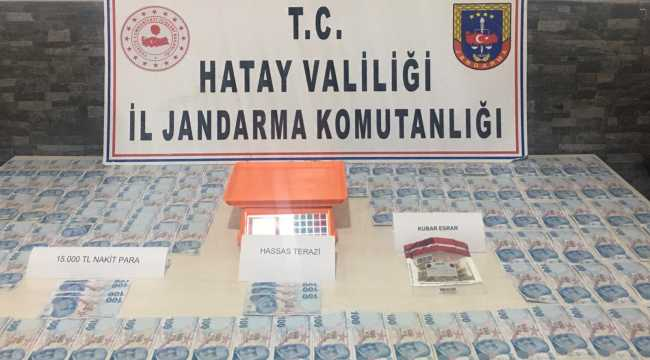 Hatay'da uyuşturucu operasyonlarında 3 kişi gözaltına alındı
