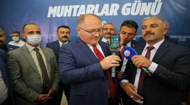 İçişleri Bakanı Soylu, telefonla Sivaslı muhtarların gününü kutladı