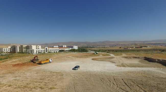 KAEÜ'de merkez kütüphane binası inşaatına başlandı