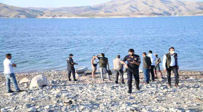 Kayseri'de balıkçılık faaliyetleri denetleniyor