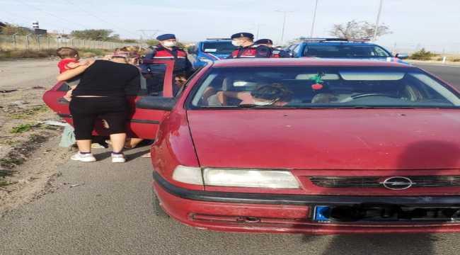 Kayseri'de otomobillerden hırsızlık yapan 6 şüpheli yakalandı