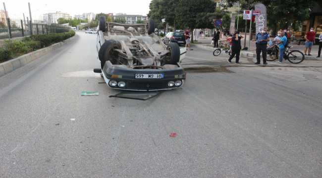 Kazazedelere ilk müdahaleyi kazaya karışan diğer aracın hemşire sürücüsü yaptı