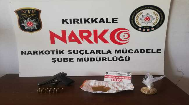Kırıkkale'de uyuşturucu operasyonunda 1 şüpheli tutuklandı