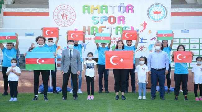 Kırşehir'de Amatör Spor Haftası etkinliği gerçekleştirildi