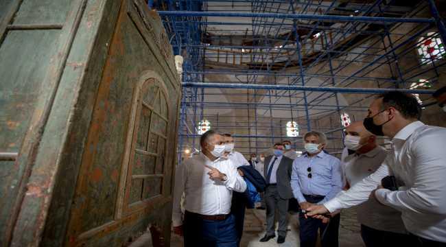 Kültür ve Turizm Bakan Yardımcısı Demircan, Antalya'da incelemelerde bulundu