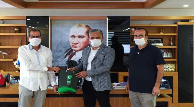 Muratpaşa Belediyesinden bağımlılıkla mücadelesinde Yeşilay'a destek