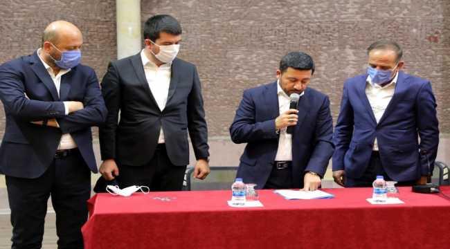 Nevşehir Belediyesinin buklet fabrikasında çalışacak işçiler kura ile belirlendi