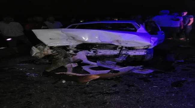 Osmaniye'de iki otomobil çarpıştı: 1 ölü, 7 yaralı