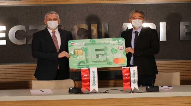 Şekerbank, Türk Eczacıları Birliği ile protokol imzaladı
