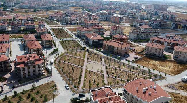 Selçuklu'ya 9 yeni mahalle parkı