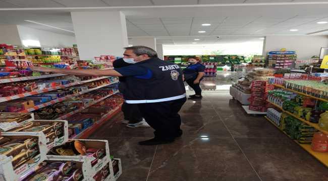 Seydişehir'de zabıta ekiplerinden etiket denetimi