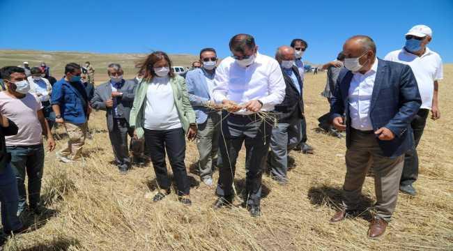 Sivas'ta don, dolu ve selden zarar gören çiftçilere 8 milyon lira ödenek