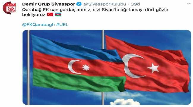 Sivasspor'dan rakibi Karabağ için