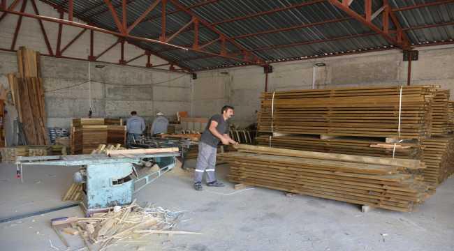 Sorgun Belediyesine marangoz atölyesi kuruldu