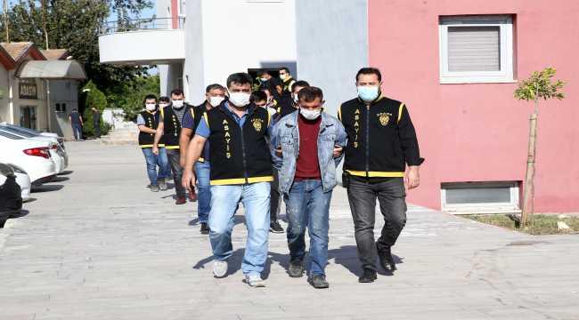 Adana'da 6 hırsızlık şüphelisi tutuklandı