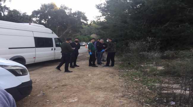 Adana'da yol kenarında çalılıklar arasına gizlenmiş EYP bulundu