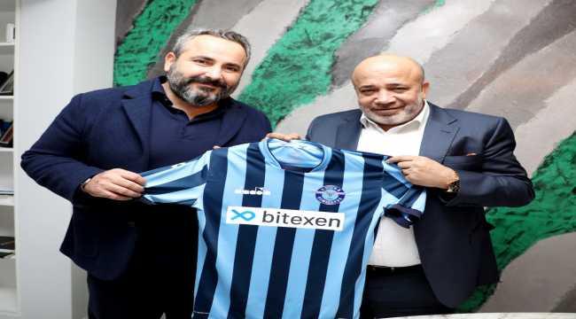 Adana Demirspor'un forma sponsoru Bitexen Teknoloji oldu