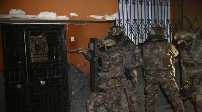 Adana merkezli 3 ilde suç örgütü operasyonu: 9 gözaltı