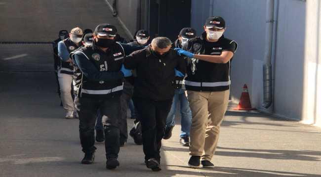 suç örgütü operasyonunda 7 şüpheli tutuklandı