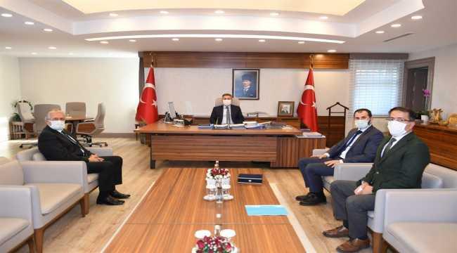 Adana Valisi Süleyman Elban'a ziyaret