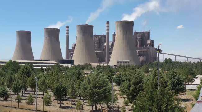Afşin Elbistan A Termik Santrali'nde çevre yatırımlarının büyük kısmı tamamlandı