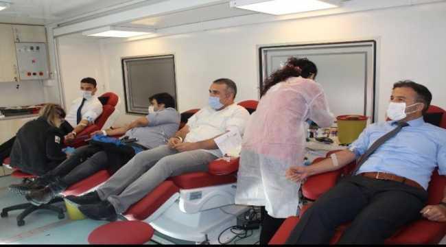 Aile, Çalışma ve Sosyal Hizmetler Adana İl Müdürlüğünden kan bağışına destek